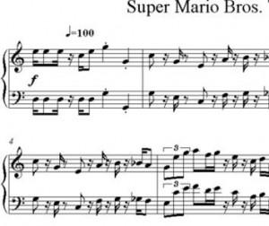 Tema de Mario Bros para Piano