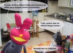 Juan Carlos Bodoque en la Oficina