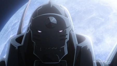 Kugimiya Rie interpreta a Alphonse Elric