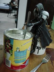 Sephiroth mueve el caldero