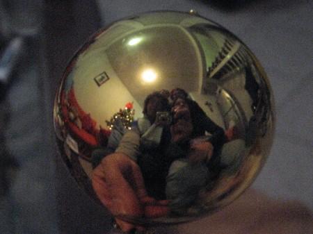 Tradicional foto con la esfera