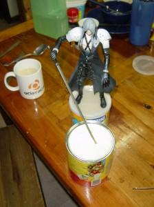 Sephiroth mata la leche