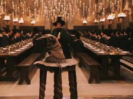 Sombrero seleccionador hogwarts griffindor slitheryn