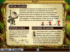 Cómo jugar Virtual Villagers