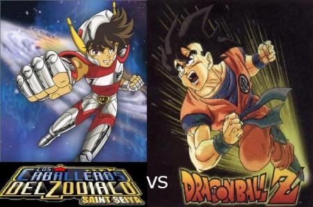 Saint Seiya vs Dragon Ball