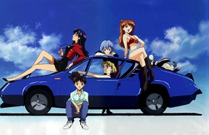 hmm auto azul...