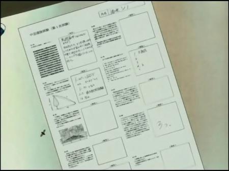 Examen de la serie Naruto...