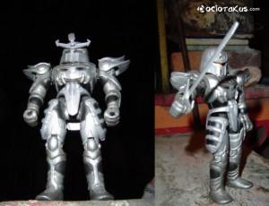 Yunkel y su armadura