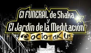 El poster del funeral de shaka