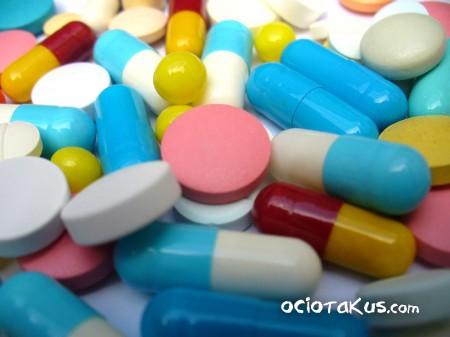 ¡Medicinas de todos colores!