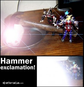 Hammer exclamation!