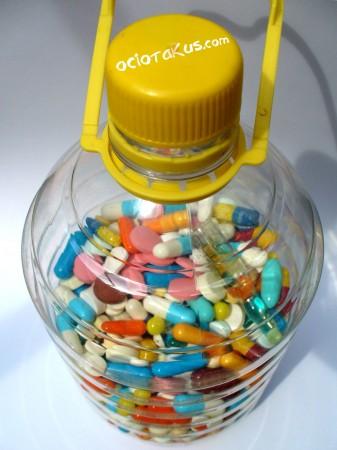 Medicinas caducadas en su lugar