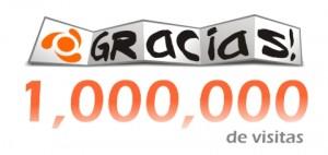 un millón de visitas en ociotakus.com