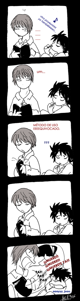 Viñeta Death Note
