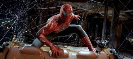 Spiderman Luchando