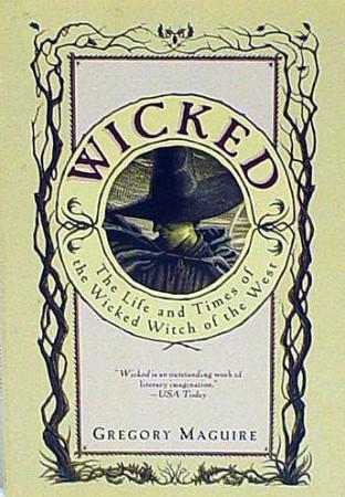 Portada del Libro Wicked, Memorias de una bruja mala