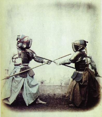 El Kendo, una de las artes marciales más practicadas.