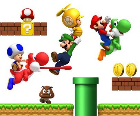 Super Mario Bros Wii y su desmadrito