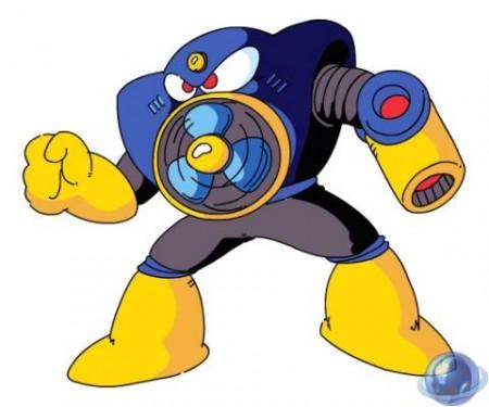 Airman, Jefe de Megaman 2 para Nintendo