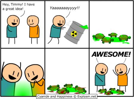 Tortugas Ninja a la orden!