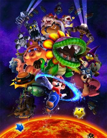 Mario y sus amigos de la galaxia