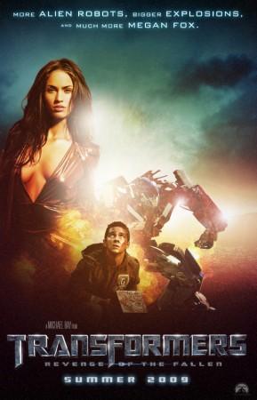 Transformers 2, más robots, más explosiones, más Megan Fox