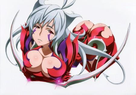 Witchblade, ejemplo claro de tetas grandes en el anime