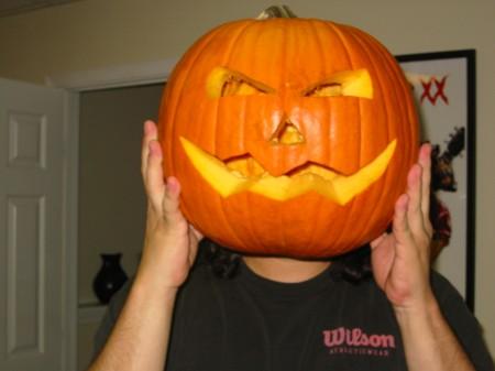 OMG! Pumpkinhead!!