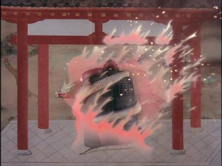 La Dragona de 'Templo Dojoji'