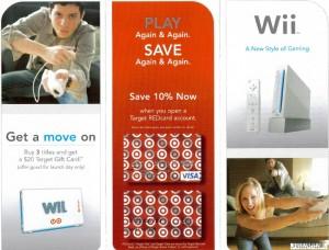 Folleto de Wii