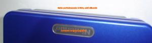 Fotografía 3. Cartucho original en slot de GBA SP.