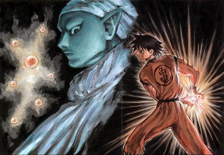 Dragon Ball por el autor de Claymore