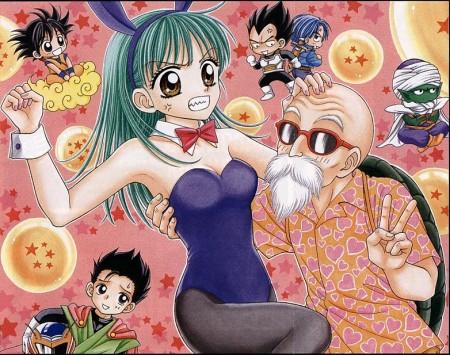 Dragon Ball al estilo de Ryo Azuki