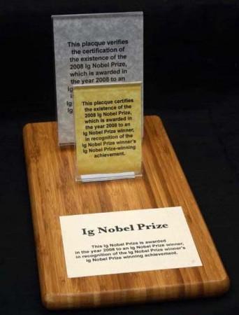 Ig Nobel Prize 2008