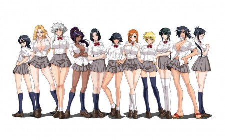 Chicas Bleach estilo RBD