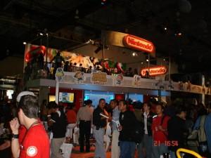 Booth de Nintendo, llena de pequeños detalles