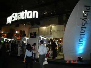 Booth Playstation de Sony