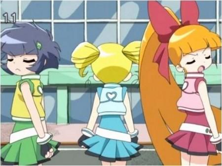 Chicas Superpoderosas Z estilo Anime