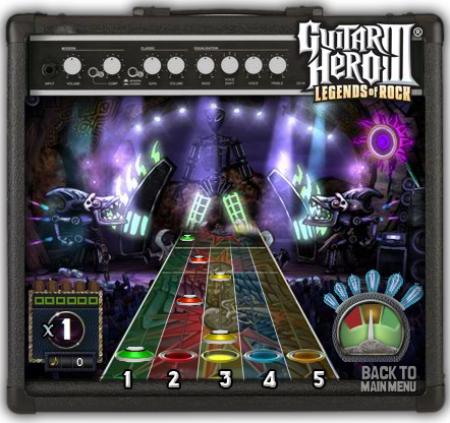 Guitar Hero en tu navegador