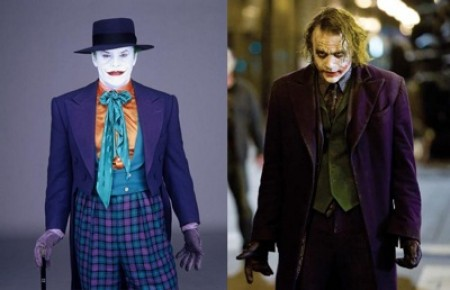 Jack Nicholson vs Heath Ledger Joker