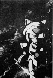 Manga de los Gatos Samurai