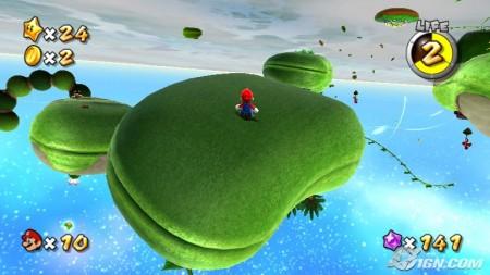 Las planicies de Mario Galaxy