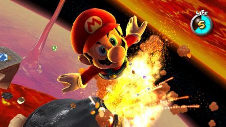 Mario sale disparado!
