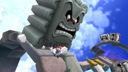 Mario corriendo por su vida!