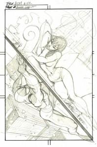 Mary Jane en pose sexy y el asombroso hombre araña!