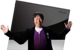 Miyamoto y el Nintendo Revolution Gigante