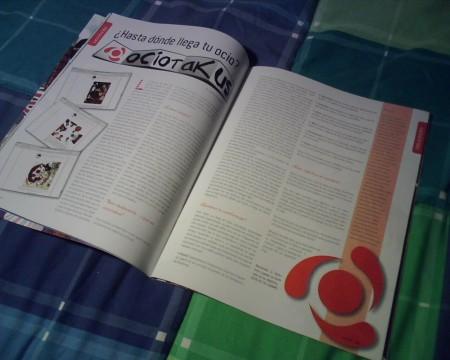 Ociotakus en la revista Niponia