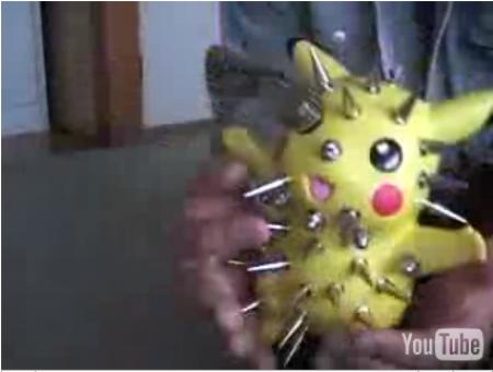 Pikachu usado en experimentos