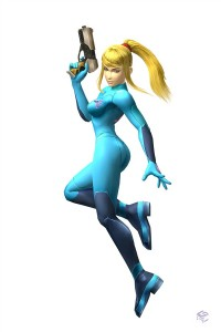 Samus Aran Zero Suit Super Smash Bros. Brawl