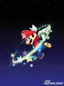 Super Mario Galaxy para el Wii